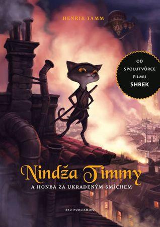 Tamm Henrik: Nindža Timmy a honba za ukradeným smíchem