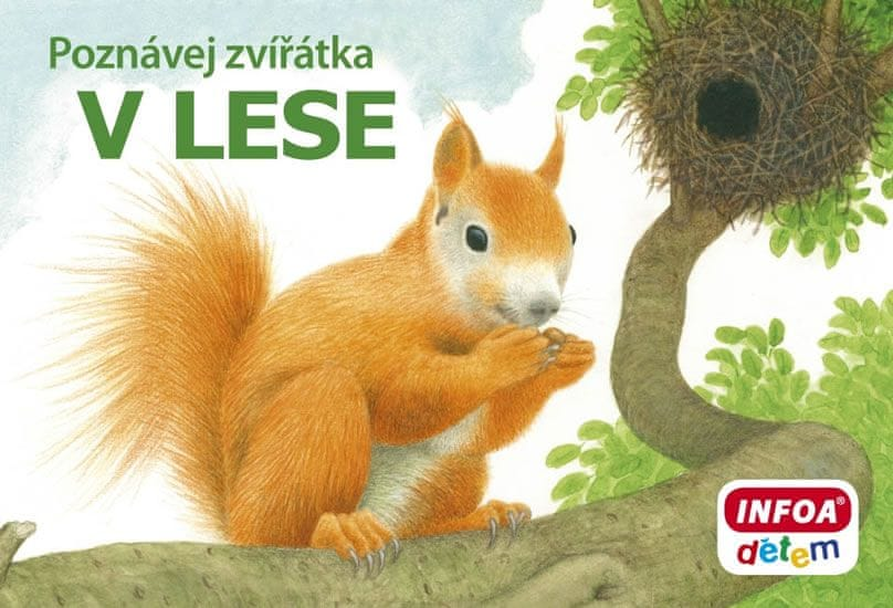 kolektiv autorů: Poznávej zvířátka – V lese
