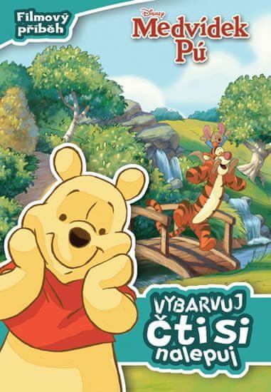 Disney Walt: Medvídek Pú - Filmový příběh: vybarvuj, čti si, nalepuj