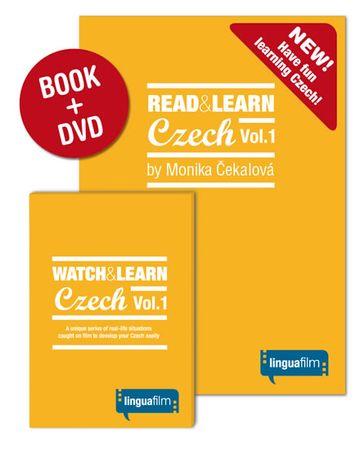 Čekalová Monika: Read + Learn Czech Vol.1 (učebnice+DVD)