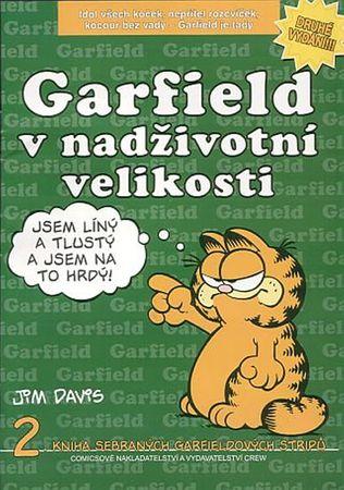 Davis Jim: Garfield v nadživotní velikosti (č.2)
