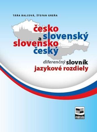 Balcová Táňa, Greňa Štefan,: Česko-slovenský a slovensko-český diferenčný slovník