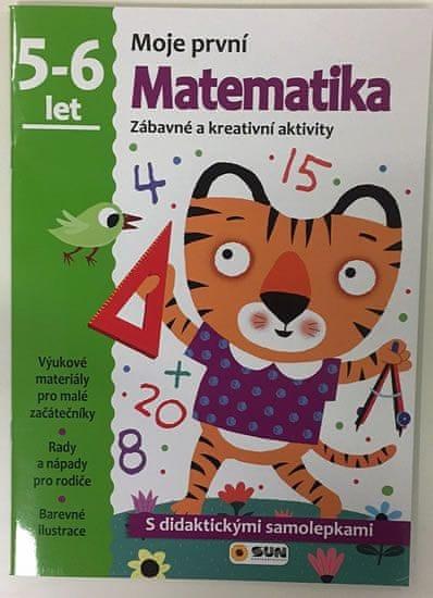 Moje první matematika 5-6 let - s didaktickými samolepkami