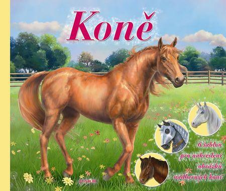 Koně - 6 šablon pro nakreslení obrázků nádherných koní