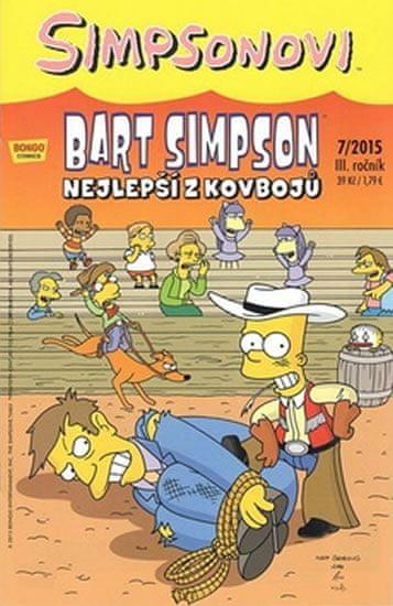 Simpsonovi - Bart Simpson 07/2015 - Nejlepší z kovbojů