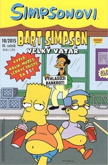 Simpsonovi - Bart Simpson 10/2015 Velký vatař