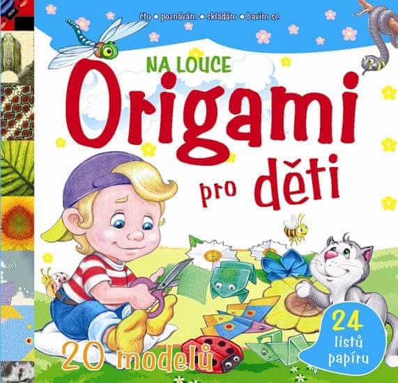 Origami pro děti – Na louce