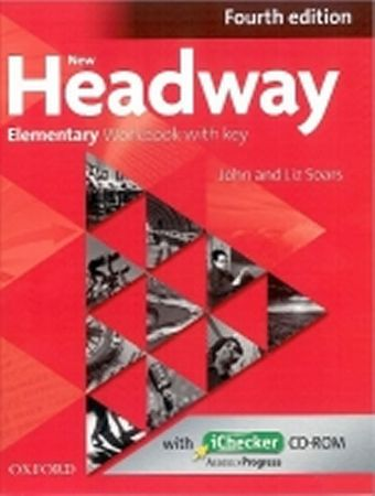 Soars John and Liz: New Headway Fourth Edition Elementary Workbook with Key with iChecker CD