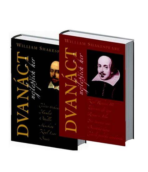 Shakespeare William: Dvanáct nejlepších her 1+2 - komplet