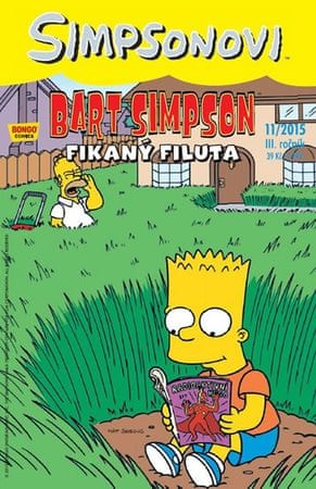 Groening Matt: Simpsonovi - Bart Simpson 11/2015 - Fikaný filuta