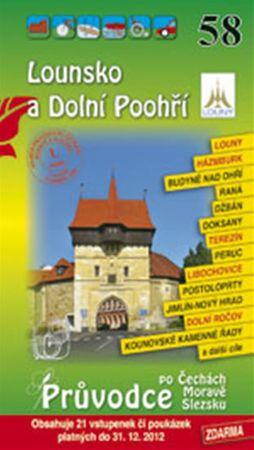 Lounsko a Dolní Poohří 58. - Průvodce po Č,M,S + volné vstupenky a poukázky