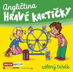 Šamalíková Pavlína: Angličtina - Hravé kartičky - zelený trhák