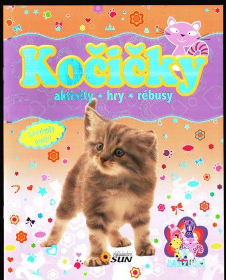 Kočičky mazlíčci * aktivity * hry * rebusy
