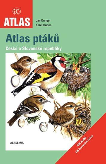 Dungel Jan, Hudec Karel: Atlas ptáků České a Slovenské republiky - 2. vydání