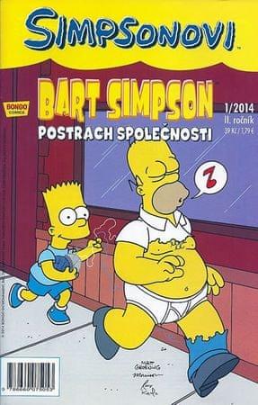 Groening Matt: Simpsonovi - Bart Simpson 1/2014 - Postrach společnosti