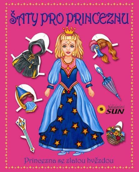 Šaty pro princeznu - Princezna se zlatou hvězdou