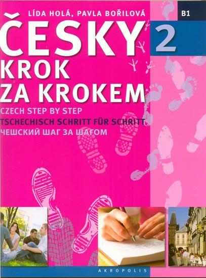 Holá Lída, Bořilová Pavla: Česky krok za krokem 2 + CD