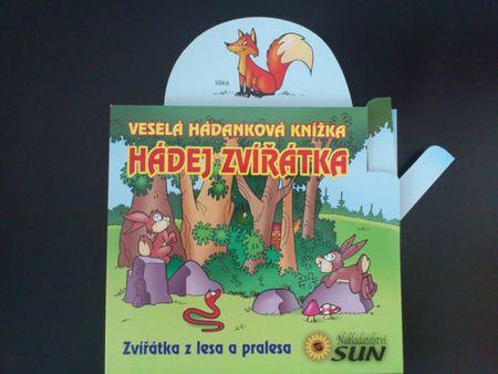 Hádej zvířátka - Zvířátka z lesa a pralesa