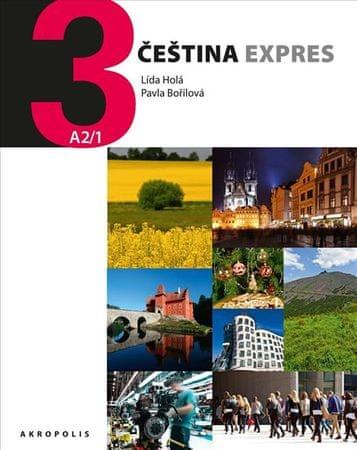 Holá Lída, Bořilová Pavla: Čeština Expres 3 (A2/1) anglická + CD