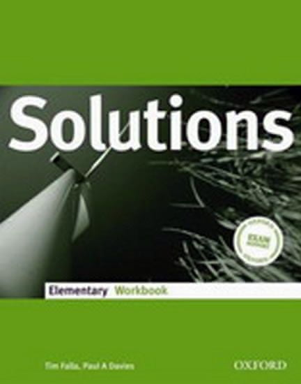 Falla Tim: Maturita Solutions Elementary Workbook CZEch Edition