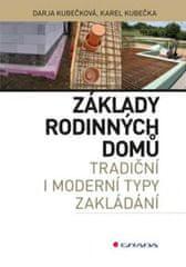 Kubečka Karel, Kubečková Darja: Základy rodinných domů - tradiční i moderní typy zakládání