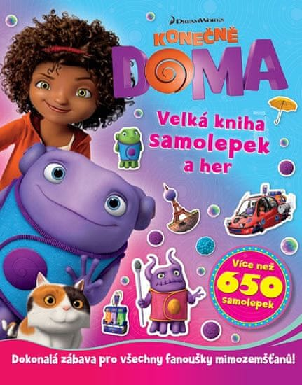 Konečně doma - Velká kniha samolepek a her