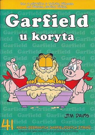 Davis Jim: Garfield u koryta (č.41)