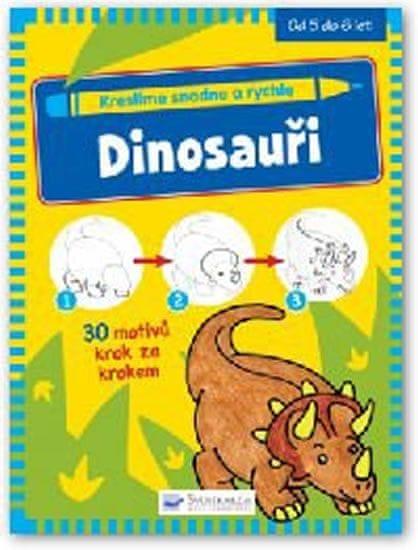Kreslíme snadno a rychle - Dinosauři