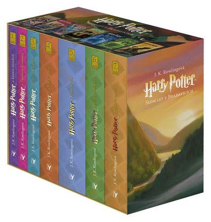 Rowlingová Joanne Kathleen: Harry Potter box 1-7