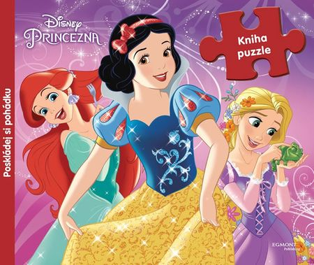 Disney Walt: Princezny (kniha s puzzle)