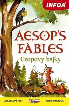 Ezop: Ezopovy bajky / Aesop´s Fables - Zrcadlová četba