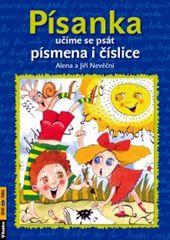 Nevěční Alena a Jiří: Písanka - učíme se psát písmena...-2.vyd