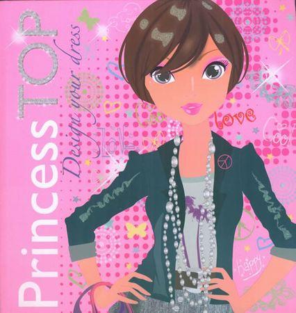 Princess TOP Design your dress 1 (růžová)