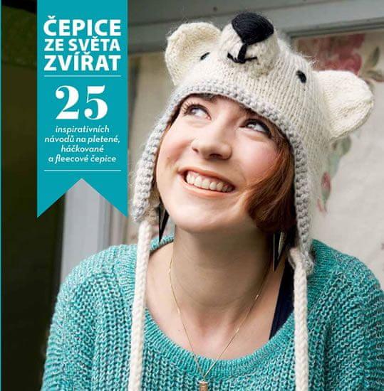 Hendersonová Rachel  Čepice ze světa zvířat - 25 inspirativních návodů na  pletené c27abeaf80