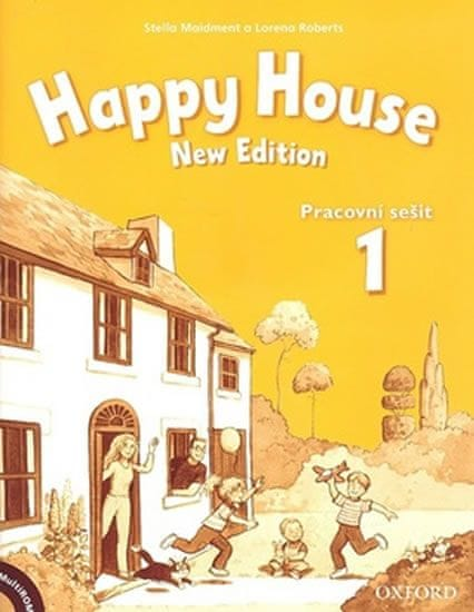 Maidment Stella: Happy House 1 New Edition Activity Book and MultiROM Pack CZ