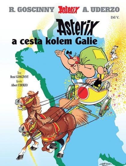 Goscinny R., Uderzo A.,: Asterix 5 - Asterix a cesta kolem Galie