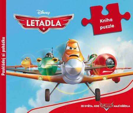 Disney Walt: Letadla - Kamarádi na křídlech - Kniha puzzle