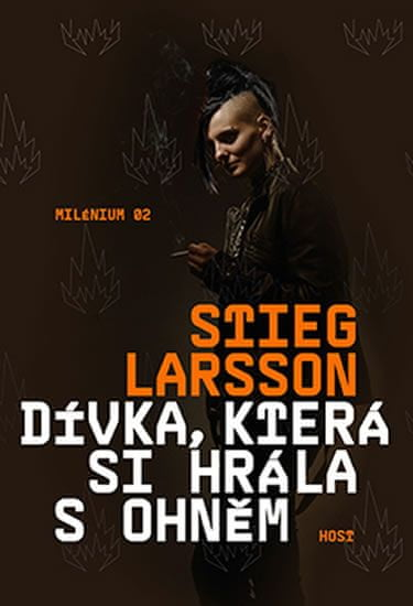 Larsson Stieg: Dívka, která si hrála s ohněm