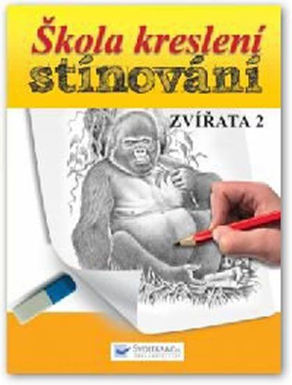Škola kreslení stínování - Zvířata 2
