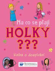 Delmege Sarah, Wildish Lee,: Na co se ptají HOLKY ??? - Kniha o dospívání