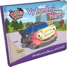 Ferner Elin: Vytuněný Harry - leporelo kniha Statečná autíčka