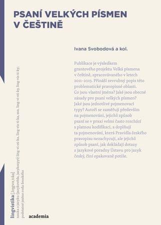 Svobodová Ivana: Psaní velkých písmen v češtině