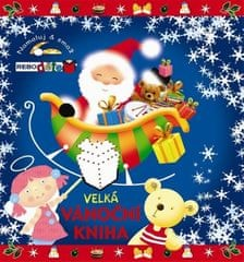 Velká vánoční kniha - Namaluj a smaž