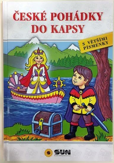 České pohádky do kapsy s většími písmenky