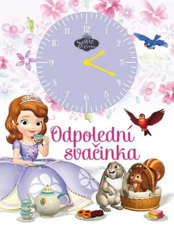 Disney Walt: Sofie První - Odpolední svačinka (kniha s hodinami)