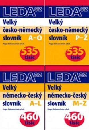 Siebenschein a kol.: Velký ČN-NČ slovník - sada 4 knih