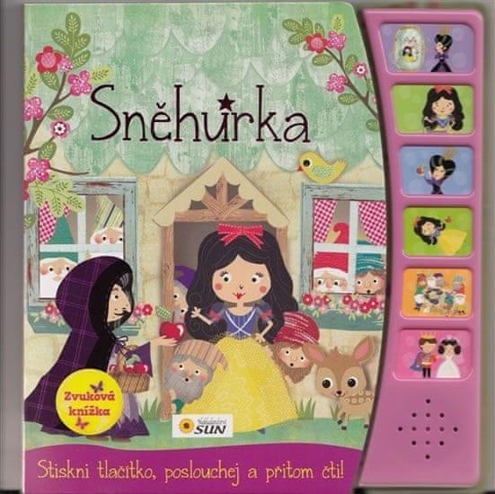 Sněhurka - zvuková knížka