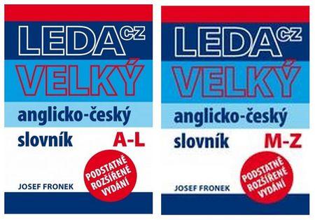 Fronek Josef: Velký AČ slovník - Fronek (2 knihy)
