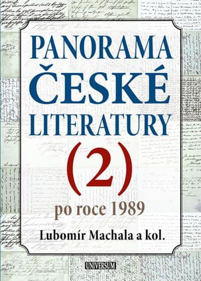 Machala a kolektiv Lubomír: Panorama české literatury 2 (po roce 1989)