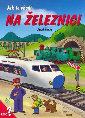 Švarc Josef: Ja tok chodí na železnici / leporelo